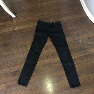 Dark Wash Skinny Jeans ABERCROMBIE & FITCH